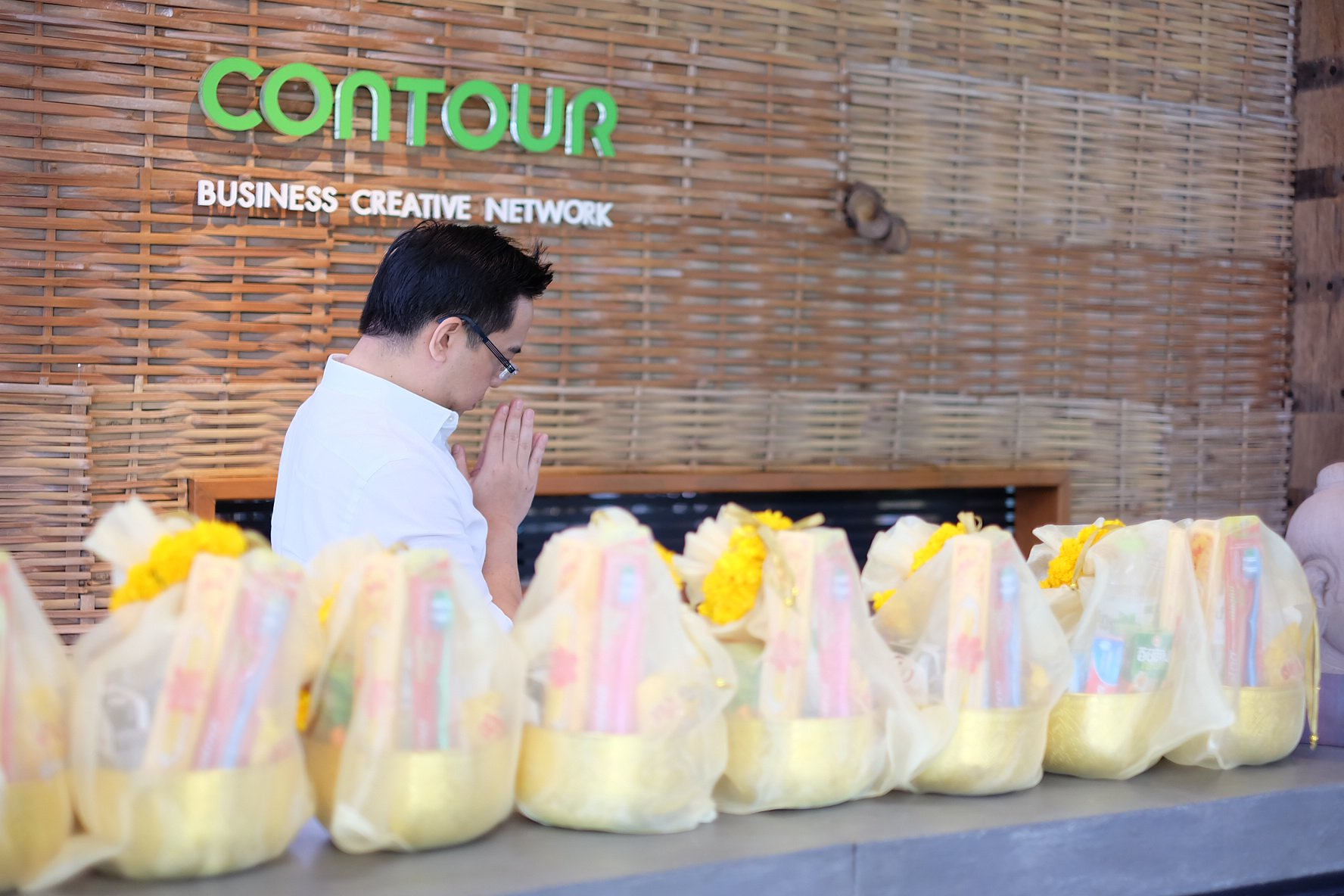 บริษัท Contour จัดงานทำบุญประจำปี